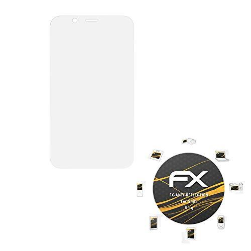 atFolix Panzerfolie kompatibel mit Shift 6mq Schutzfolie, entspiegelnde & stoßdämpfende FX Folie (3X)