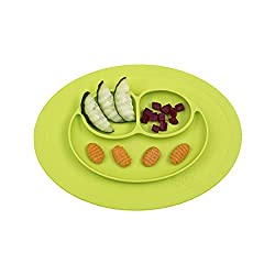 ezpz happy mat silicone baby suction plate toddler plate