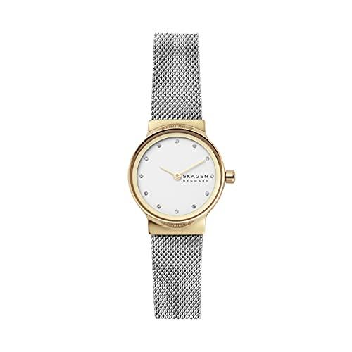 Skagen Reloj Analogico para Mujer de Cuarzo con Correa en Acero Inoxidable SKW2666