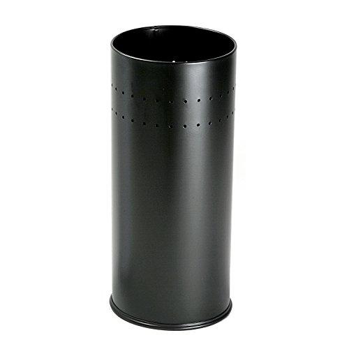 Versa Malena Paragüero para la Entrada, Habitación o Hall, Porta paraguas moderno, Medidas (Al x L x An) 50 x 23 x 23 cm, Metal, Color Negro