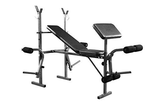Hantelbank 7 In 1, mehrfach verstellbar: Klappbare Hantelbank Klapp Einstellbare Gym Fitness Exercise Bench Trainingsbank 7 in 1