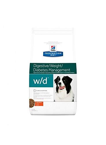 Prescription Diet w/d Canine Low Fat mangime Secco per Il Controllo del Peso Gusto Pollo kg. 1,5