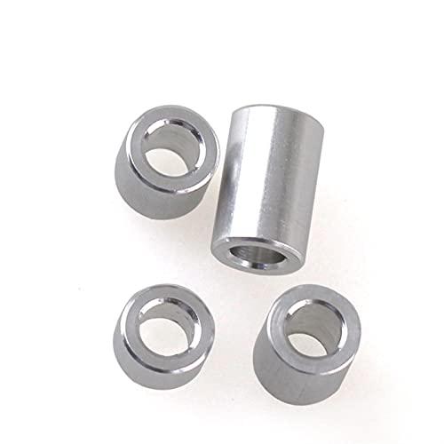 Kit de juntas 10-20pcs Arandela Plana de Aluminio M3 M4 M5 M6 M8 Junta de Buje de Aluminio Espaciador CNC Manga No-Rosca Separadores para Piezas Modelo RC Sellos Espaciador
