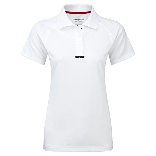 2016 Henri Lloyd Ladies Fast Dry Polo T-Shirt in MARINE Y30279 Sizes- - Small