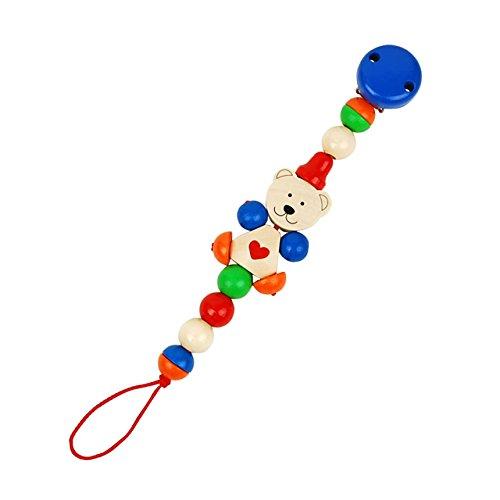 ハイメス ドイツ製 おもちゃホルダー ひもの長さオリジナルタイプ ハートベア