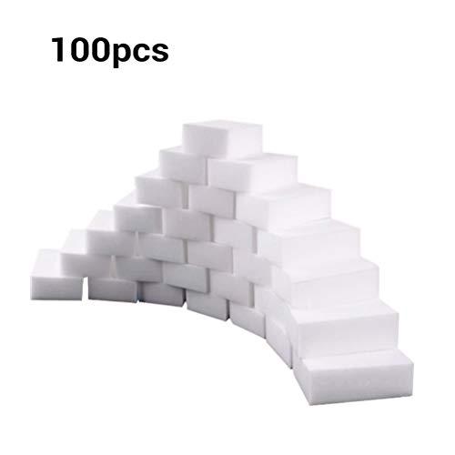 Jackallo 100PCS/lot Cleaning Sponges Multi-Functional Magical Sponge Eraser Melamine Foam Cleaner