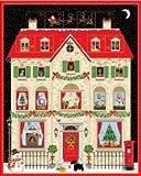 Makower Weihnachtliche Stoffbahn – Adventskalender