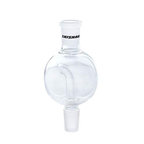 Shisha King® Molassefänger | stabiles Glas mit 18/8 Schliff | Wasserpfeife Vorkühler Zubehör | leichte Reinigung (small Ball)