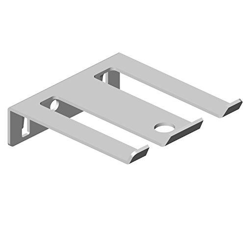Element System 11405-00002 Werkzeughalter doppelt / 6 Stück/für Werkzeuglochwand/Lochplattenwand/weiß