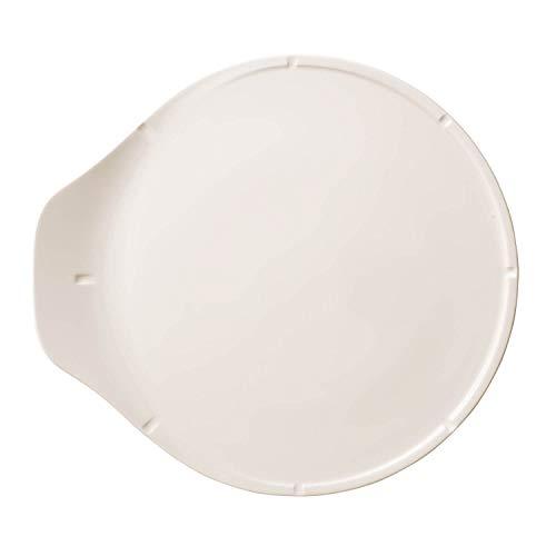 Villeroy & Boch - Pizza Passion plat à pizza, plat rond en porcelaine premium avec repères sur le bord, adapté au lave-vaisselle, 37,5 cm