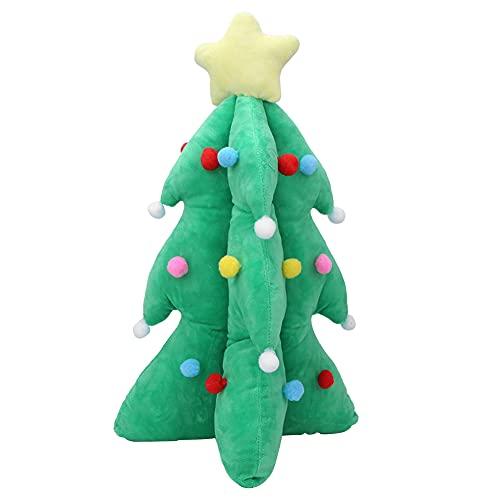 URRNDD Juguete de Navidad, Juguete de árbol de Navidad, Juguete de Felpa cómodo para el hogar de los niños(Musica Luminosa, Los 55cm 0.6kg)