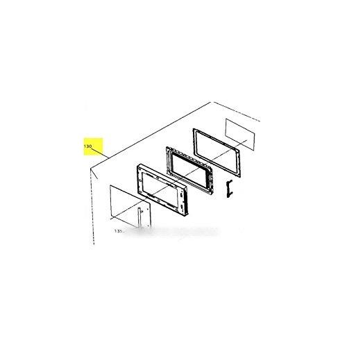 BRANDT - porte complete pour micro ondes BRANDT