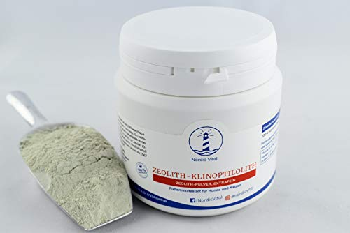 NordicVital Zeolith-Klinoptiolith, 400g Dose, Detox, Heilerde