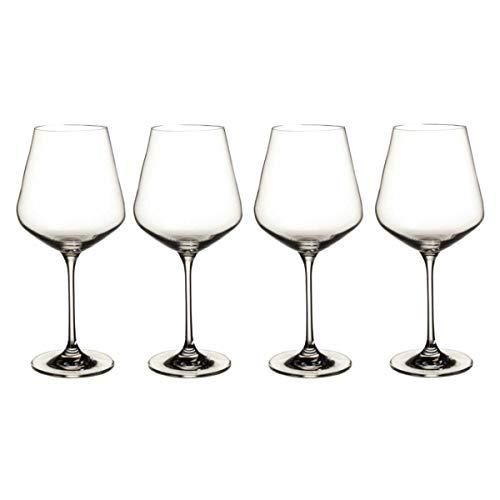 Villeroy & Boch La Divina set di bicchieri da vino rosso, 470 ml,...