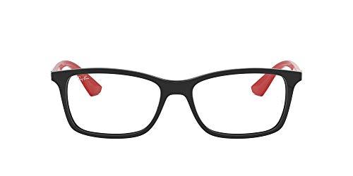 Ray-Ban Herren 0RX7047 Brillengestelle, Schwarz (Black), 55