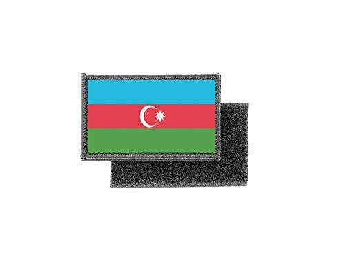 Aufnäher patch aufbügler gedruckt flagge fahne aserbaidschan