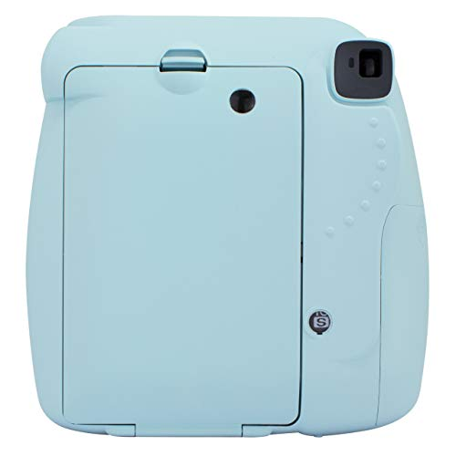 Fujifilm Instax Mini 9 Ice Fotocamera per Stampe, Formato 62 x 46 mm, Azzurro