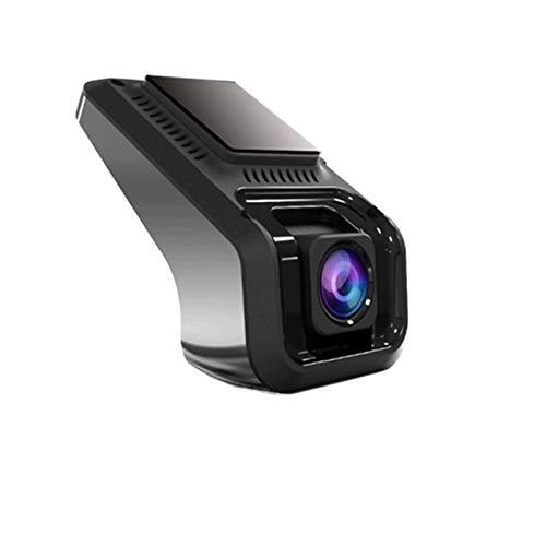 Cámara de Tablero Smart Hidden Car DVR ADAS Dash CAM USB Mini cámara HD 1080p Lente Grabadora de conducción Tipo Oculto para anfitrión de Android (Color Name : X9, SD Card Memory : Without TF Card)