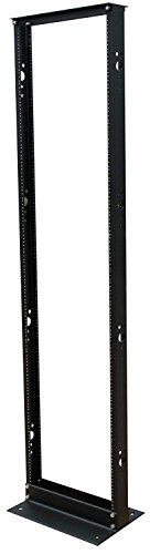 Tripp Lite 45U 2-Post Open Frame Rack, Network Equipment Rack, 800 lb. Capacity (SR2POST)