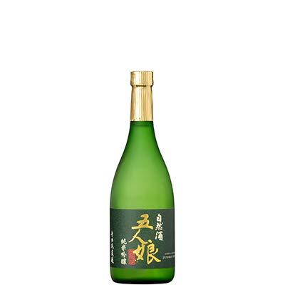 五人娘 純米吟醸 (自然酒・生もと・無濾過) 720ml