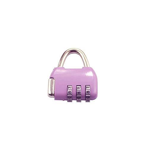 Combination Lock Storage Lock Portable Backpack Luggage Lock School Bag Lock 3-digit Password Anti-theft Lock