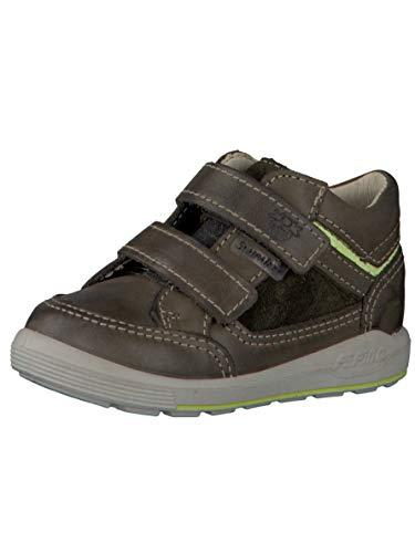 RICOSTA Pepino by garçon Bottes & Boots Mika, Bottes pour Enfants, Gamin Bottes,Bottes Velcro,imperméables à l'eau,Army,22 EU / 5.5 UK