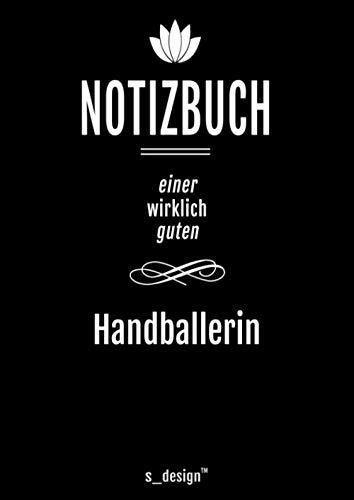 Notizbuch für Handballer / Handballerin: Originelle Geschenk-Idee [120 Seiten kariertes DIN A4 blanko Papier]