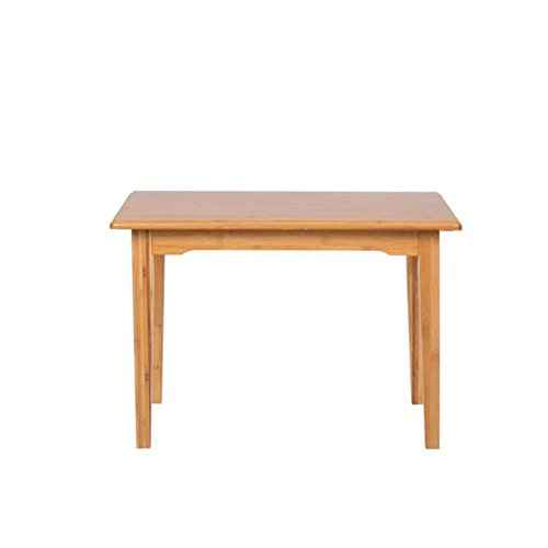 Multifunctionele computer Study Desk houten tafel eettafel houten poten modern vrije tijd tafel 3 maten 70*50*48CM
