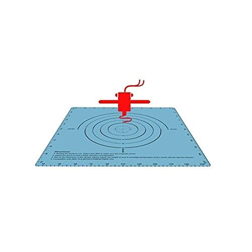 XBaofu Papel de Calor 1pc Construir Superficie de la Placa Cinta magnética de Calor de lecho Etiqueta magnética Imprimir Cama Cinta 220 * 220 mm for Impresora 3D Imprimir Etiqueta (tamaño : Blue)