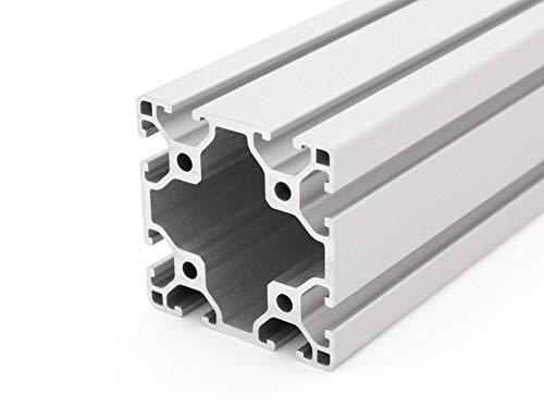 2000/mm Profilo in alluminio 20/x 20/tipo B /Taglio 50/ scanalatura 6/
