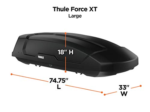 Thule 6357B Force XT Rooftop Cargo Box, Large