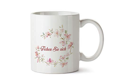 True Statements Tasse mit Spruch Ficken Sie Sich - Kaffeetasse, Kaffeebecher, Mitarbeiter, fürs Büro, Arbeit und Co.