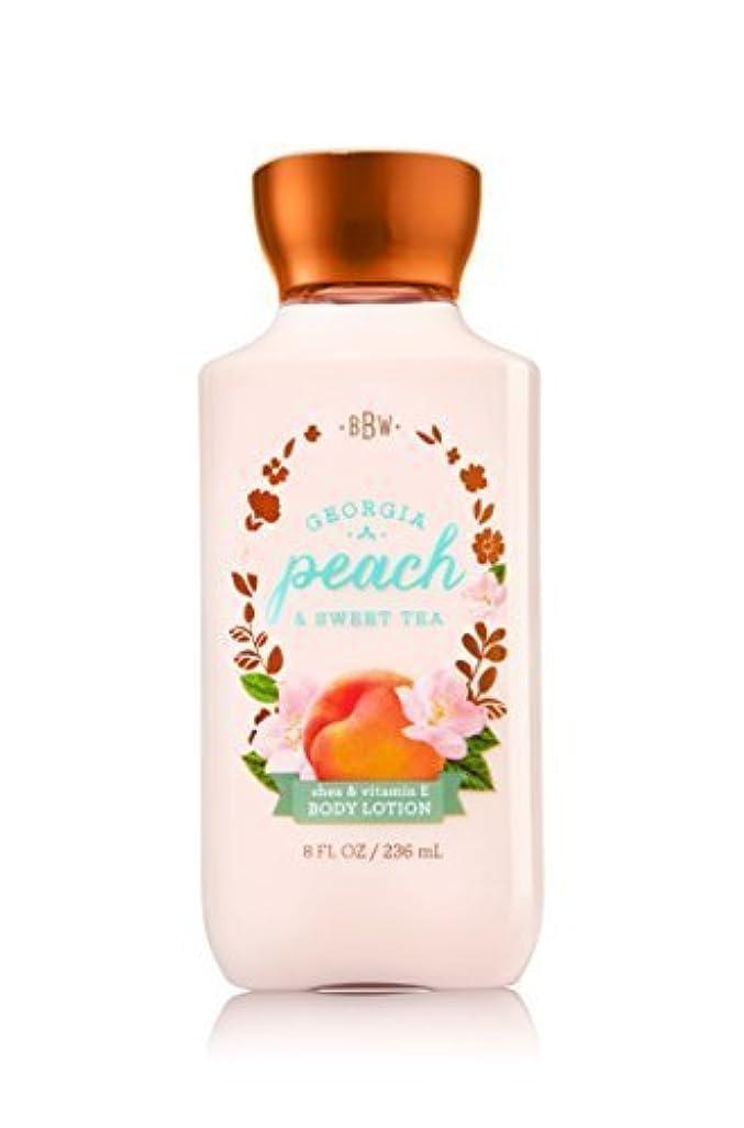 マート引き金息を切らしてBath & Body Works Lotion Georgia Peach & Sweet Tea by Bath & Body Works [並行輸入品]