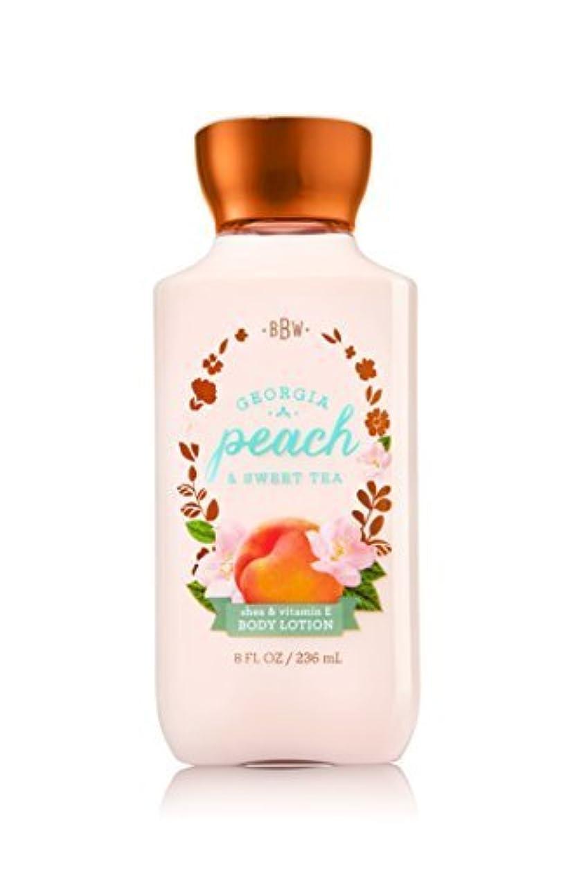フィード良心的作りBath & Body Works Lotion Georgia Peach & Sweet Tea by Bath & Body Works [並行輸入品]