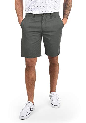 !Solid Thement Herren Chino Shorts Bermuda Kurze Hose Aus 100{56dabf1426fd1e7ebc0371b988ba1c4d791cc748b9d438a3b68c8d1cf77d23f4} Baumwolle Regular Fit, Größe:XL, Farbe:Dark Grey (2890)
