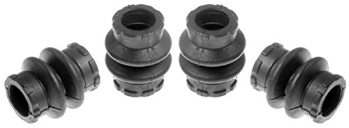 ACDelco 18K1184 Professional Front Disc Brake Caliper Rubber Bushing Kit with Seals