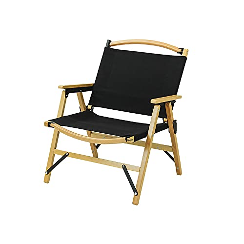 Sedia a sdraio pieghevole Sedia reclinabile in legno con braccioli, sedia da giardino ergonomica e traspirante, sdraio Zero Gravity per spiaggia, pesca, giardino, balcone, campeggio
