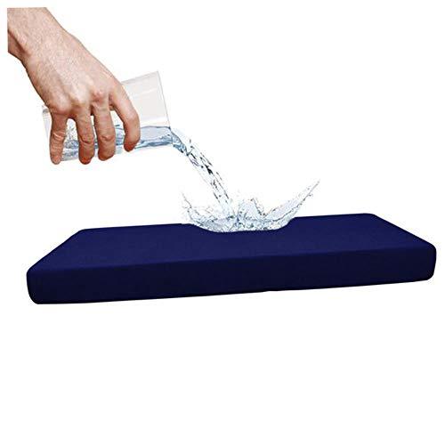 EMOHKCAB 1-4 zetels Waterdichte bank Zitkussenhoes Bank Rekbare hoezen Beschermer, H, M
