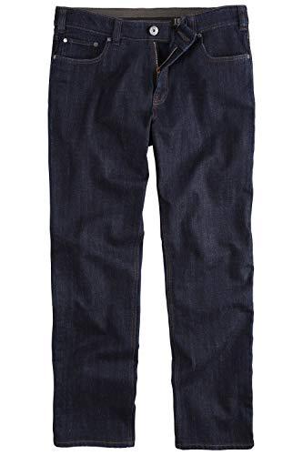 JP 1880 Herren große Größen bis 66, Jeans-Hose, 5-Pocket-Form, Denim Hose im Regular Fit, Stretch-Comfort, Baumwolle darkblue 64 703353 93-64