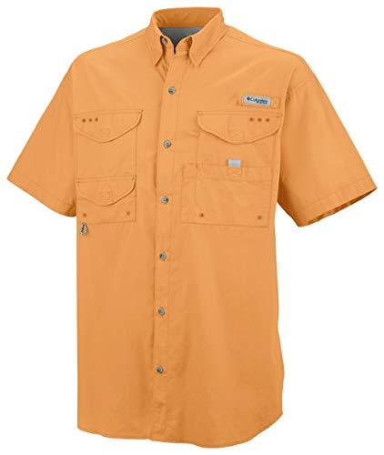 Columbia Men's Bonehead Long Sleeve Shirt, Summer Orange, X-Small