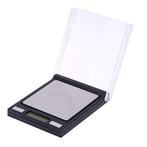 Báscula digital Mini caja de CD Escala de bolsillo 0.01g Precisión LCD Escala electrónica de miligramos para laboratorio de joyería 100 g / 0.01 g