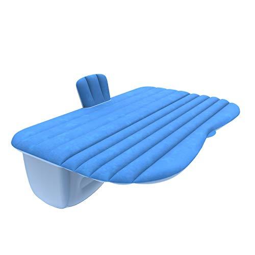 Guoziya Air Matelas Gonflable Voiture Lit Pliant Gratuit Matelas Camping Voyage en Plein Air Rest Matelas Matelas d'air Que Vous Pouvez Acheter Selon La Taille De Votre Voiture (Couleur : Bleu)