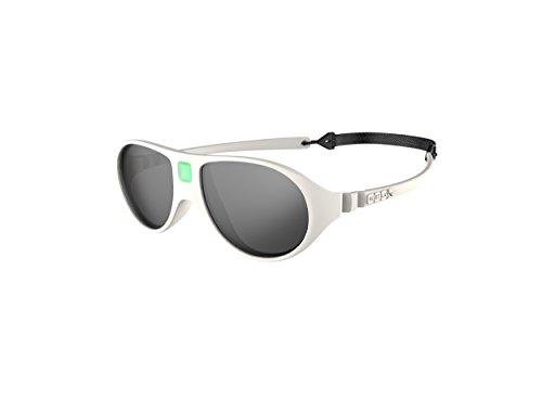 Ki Et La Ki ET LA - Babysonnenbrille im Stil Jokala - 100% unzerbrechlich - Creme - 2-4 Jahre