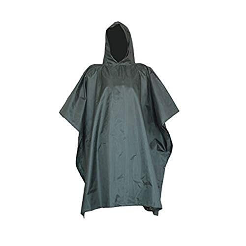 JJZXPJ Waterdichte lichtgewicht camouflage regenjas multifunctionele militaire waterdichte capuchon regenjas geschikt unisex (kleur: Bloem camouflage)