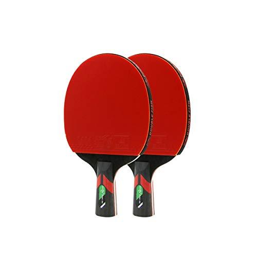 Review Of YINJIESHANGMAO Table Tennis Bat, 2, Horizontal, Pen-Hold, Beginner Student Table Tennis Ra...