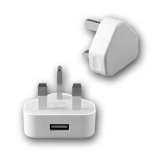 Adaptador de enchufe británico para iPad, iPod Touch, Classic, Nano e iPhone...