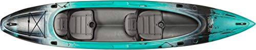 Old Town Twin Heron Recreational Tandem Kayak (Photic, 13 Feet 6 Inches)
