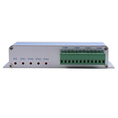 Wakects- Controlador Remoto inalámbrico DC 9-12V, Controlador SMS, Interruptor de Control Remoto inalámbrico gsm para Servidor, lámpara, computadora, refrigerador, TV,(European Standard 220V)