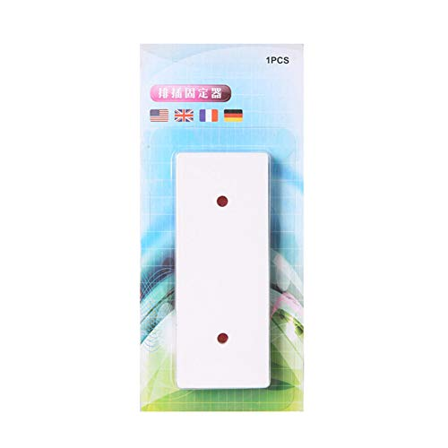Henreal Magic Plug Holder Naadlozer, stansvrije stekkersticker voor stopcontacten