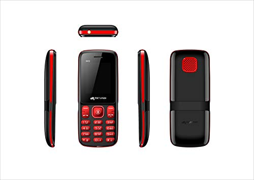Micromax X412 (Black + Red)